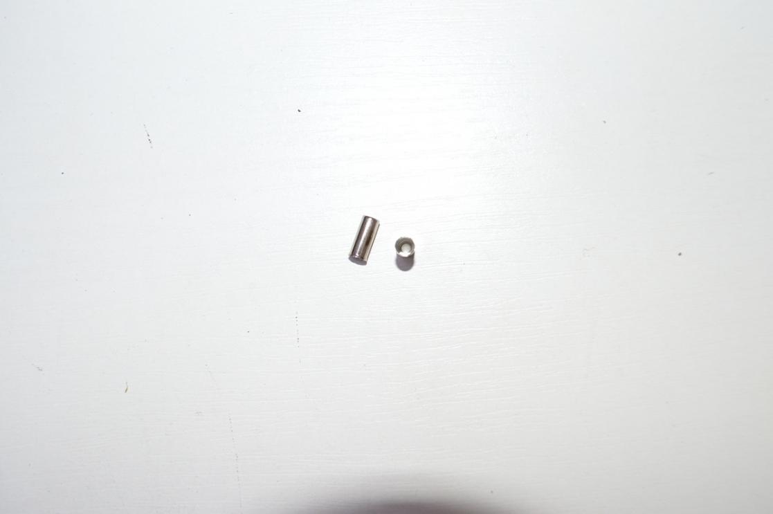 Наконечник оплетки троса Alhonga D-90 (250шт-1уп) 3132582 цена за 1 наконечник