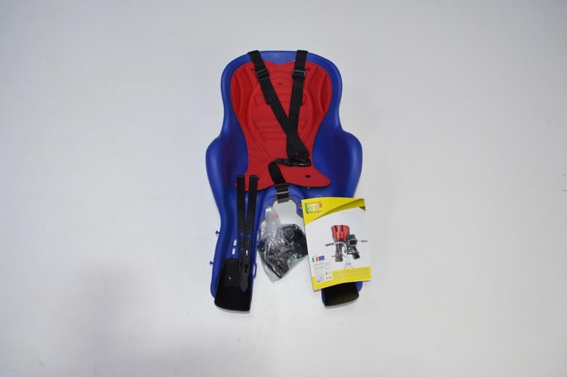 Велокресло Kiki deluxe детское переднее на раму, код 92070731